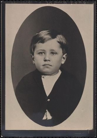 Orville Wright, about three years old