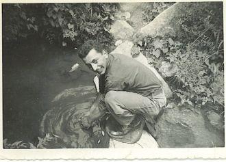 Norman Rowey, Korea 1950's