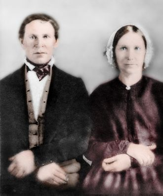 Reuben Mcbride and Mary Ann Anderson