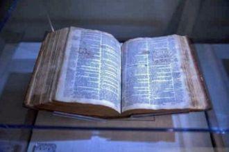 Rev John Lathrop's Bible