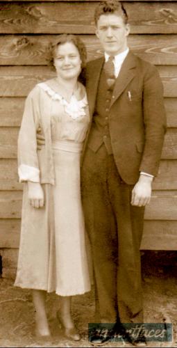 Cleveland Malone Sr  and Emily (Sexton) Malone/Mellown