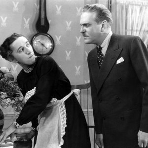 Margaret Hamilton and Frank Morgan