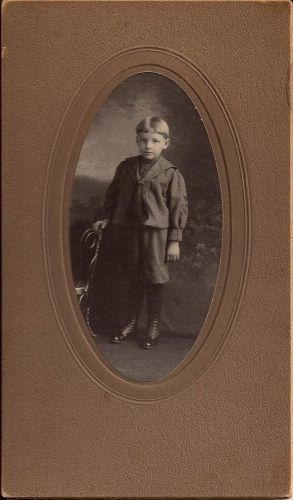 Unknown boy, Michigan