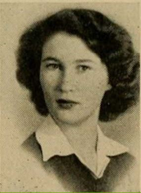 1946 Yuma Union High School Yearbook Photo - Adele Jordan