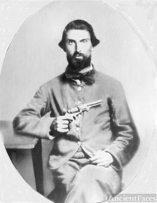 Confederate Soldier James Ausband Martin