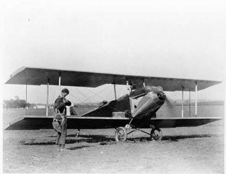 A photo of Charles Augustus Lindbergh