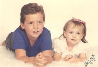 Donica Maree Bradshaw Rangel and her brother Justin Lee Boudreau