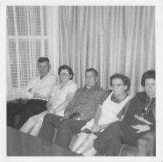 Heckman family, 1970