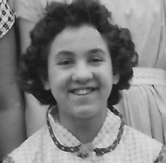 Barbara J Palefsky, sixth grade.