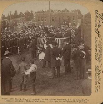 Theodore Roosevelt 1902 Massachusetts Speech