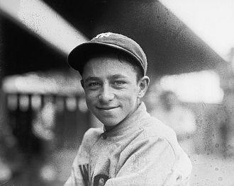 Eddie Bennett, mascot, N.Y., 1921