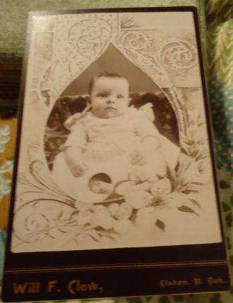 Baby photo, North Dakota