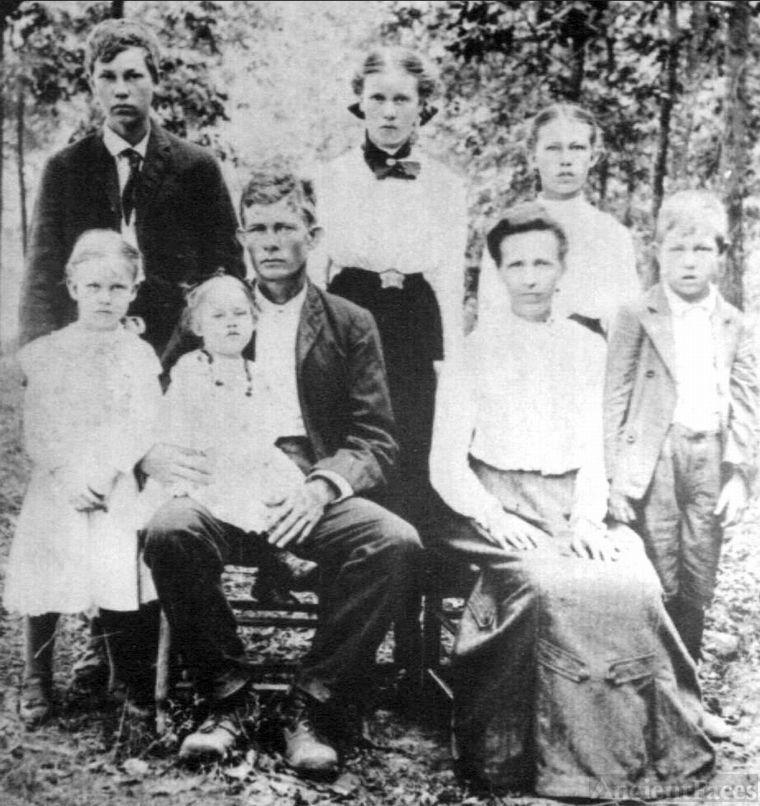 The Elbert Kimbrell Family
