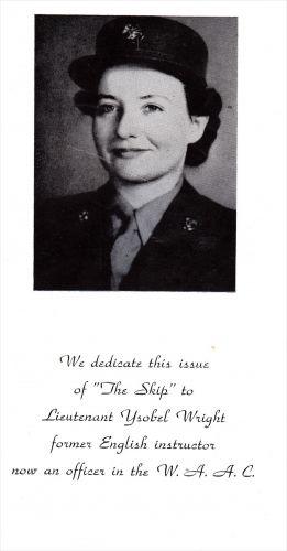 Ysobel Wright