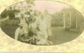 Nancy Lewis & family