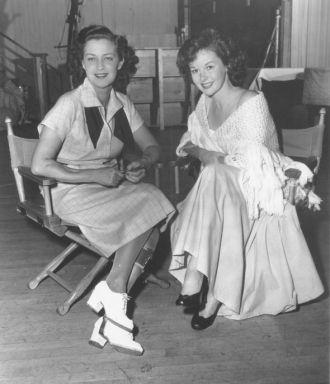 Jane Froman and Susan Hayward