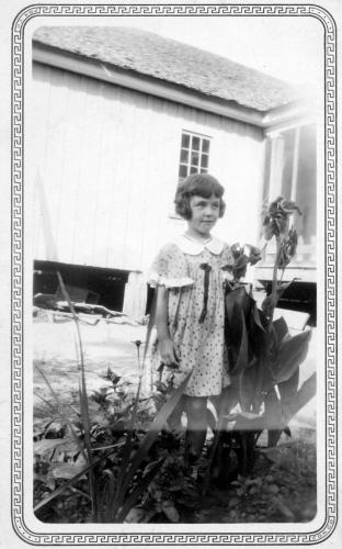 Alma Fay Hillard at age 6