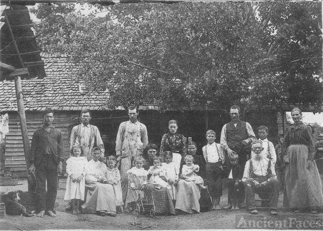 John P. Hales family Pickens County Georgia