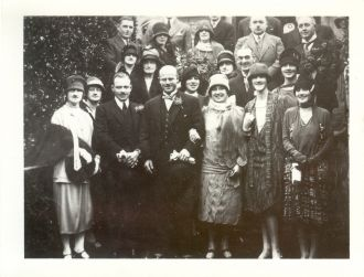 Ethel Victoria Hatten wedding
