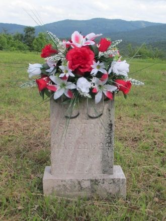 Infant James Sexton gravesite