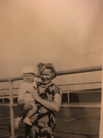 Susan (Farrell) Wittman and Grandchild