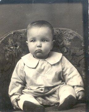 Jack Samples' Baby Photo