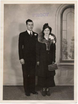 J. Bernard  Cadotte and Dorothy  Ryan 1936