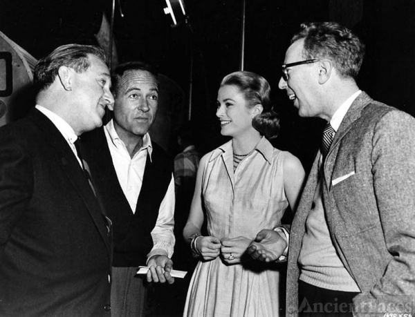 Charles Walters and Grace Kelly