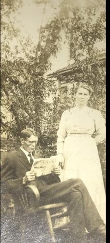 Clifford & Myrta Drummond (Moses)
