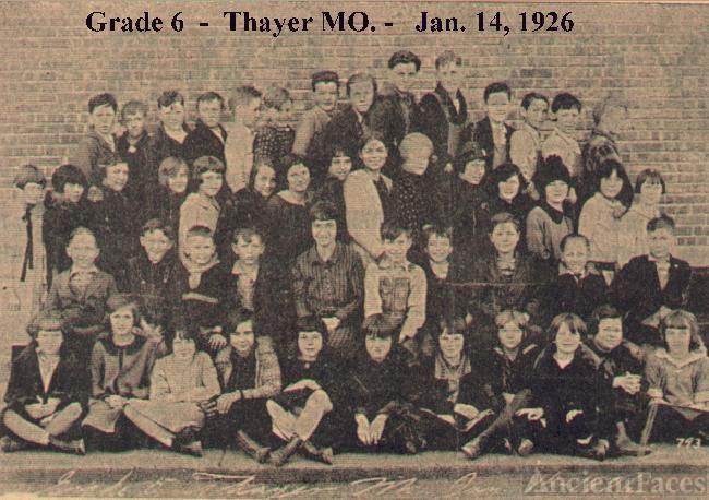 Thayer MO grade 6