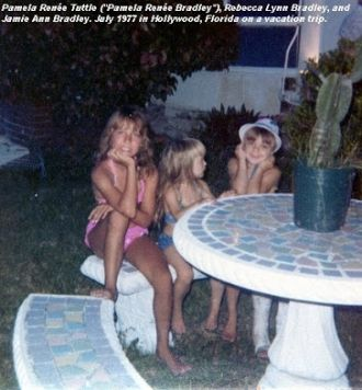 Pam, Becky and Jamie 1977