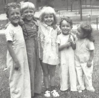 John R. Svendsen and friends