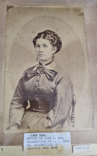 Eliza Jane Harmison Deel