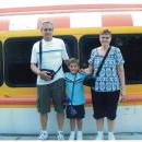 Leonard, Ethan, and Connie Ruedlinger