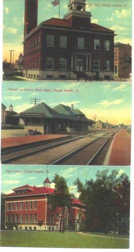 Chicago Heights, Illinois 1920's