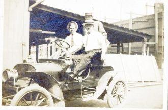 Howard Van Buskirk, passenger