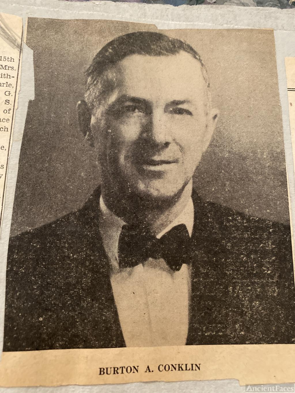 Burton W Conklin