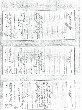 Andrew Jackson Middleton Civil War Record # 7