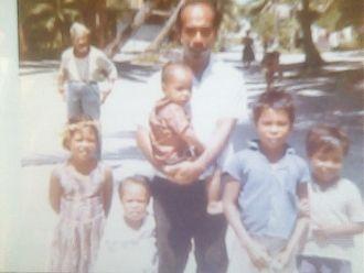 Topias Soulik Family, Micronesia, 1968
