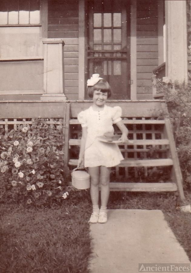 First day of school - Virginia Ginger Bland