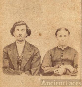 PATRICK & SARAH (McCONELL) ROGERS