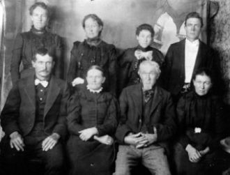 Isaac Morley Jr. and Fannie Wilkinson Family