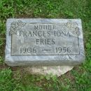 Francis Fries gravesite