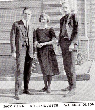Jack Silva 1922 Oakland CA