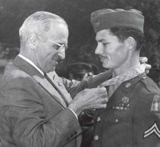 Desmond Doss and Truman