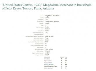 Magdalena (Merchant) Sesma