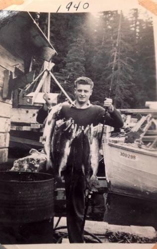 William A Olah, 1940