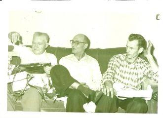 Richard Talley, Ezra Sadler, Arville Lucas, 1960
