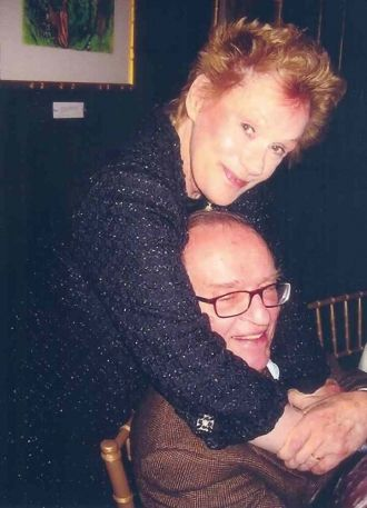 Tammy Grimes and Sidney Lumet
