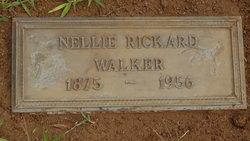 Nellie Jane  (Rickard ) Walker (Headstone)